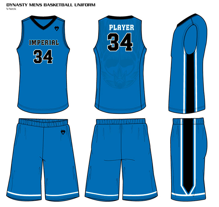 Sublimated Basketball Uniforms Dynasty