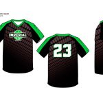 Sublimated Basketball Uniform Gridlock V Neck