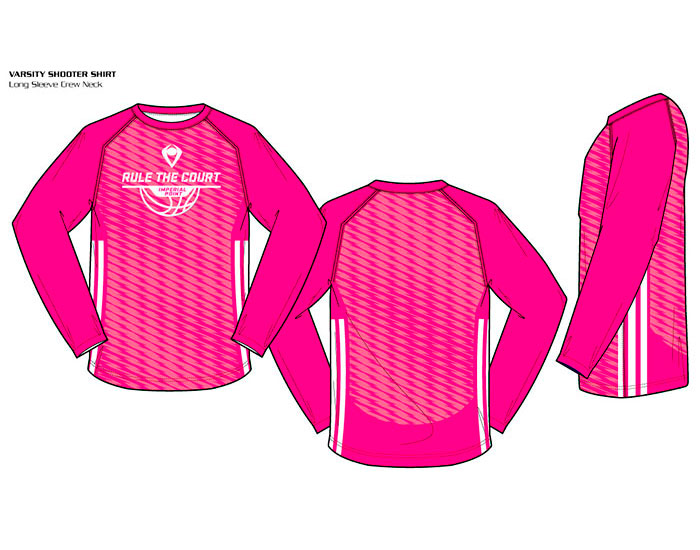 Sublimated Basketball Uniform Varsity Crew Neck