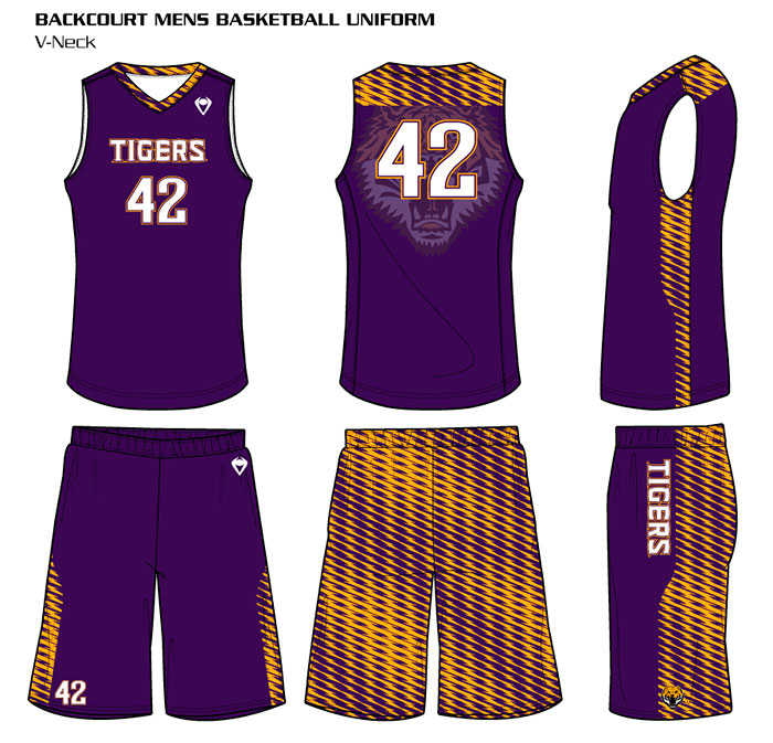 Sublimated Basketball Uniforms Backcourt