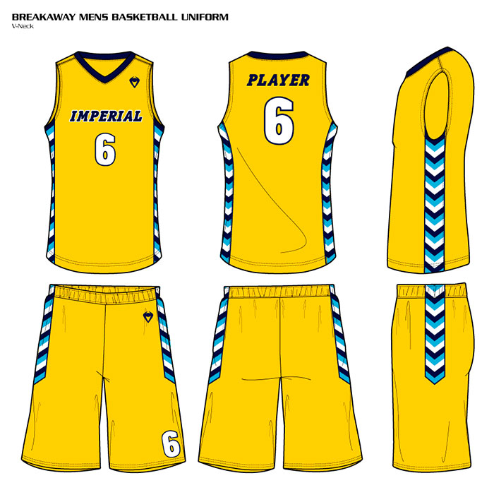 Sublimated Basketball Uniforms Breakaway
