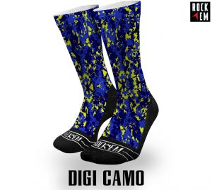 Digi Camo Sublimated Socks