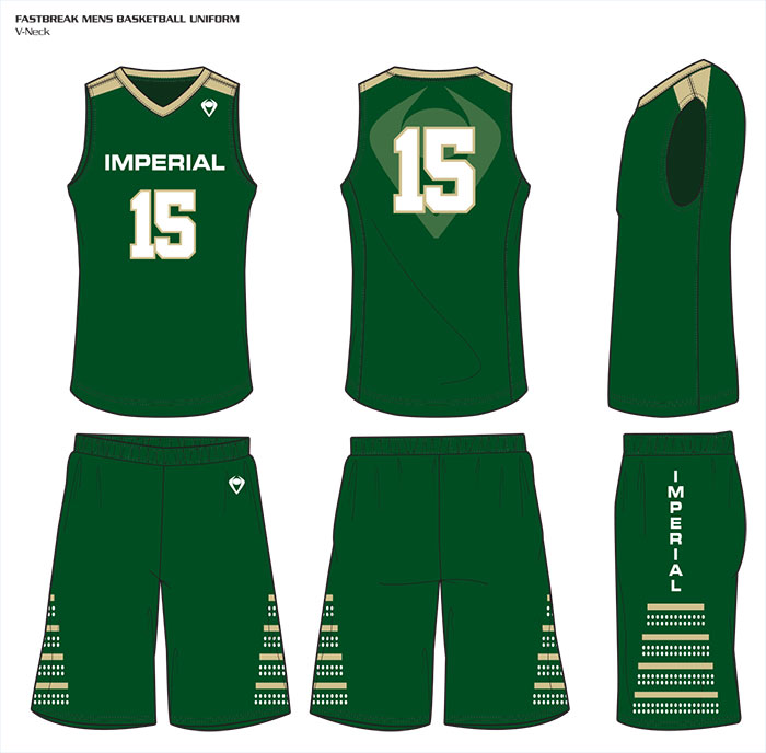 Sublimated Basketball Uniforms Fastbreak