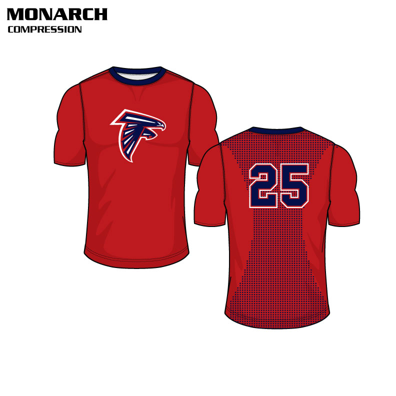 Sublimated Basketball Uniform Monarch Compression Shirt