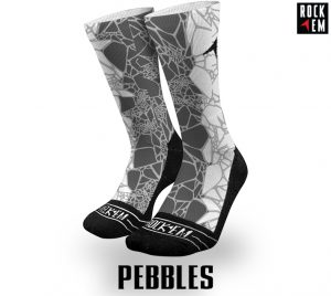 Pebbles Sublimated Socks