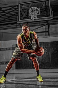 Men's Sublimated Basketball Uniforms Example
