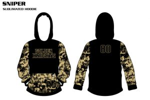 Sniper Sublimated Basketball Hoodie