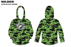 Soldier Sublimated Basketball Hoodie