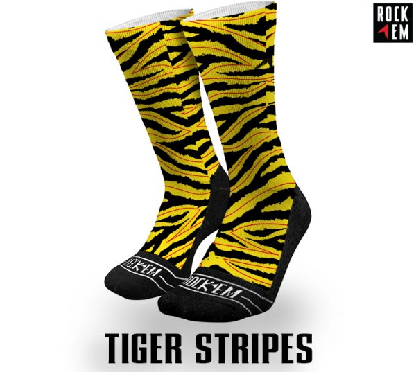 Tiger Sublimated Socks