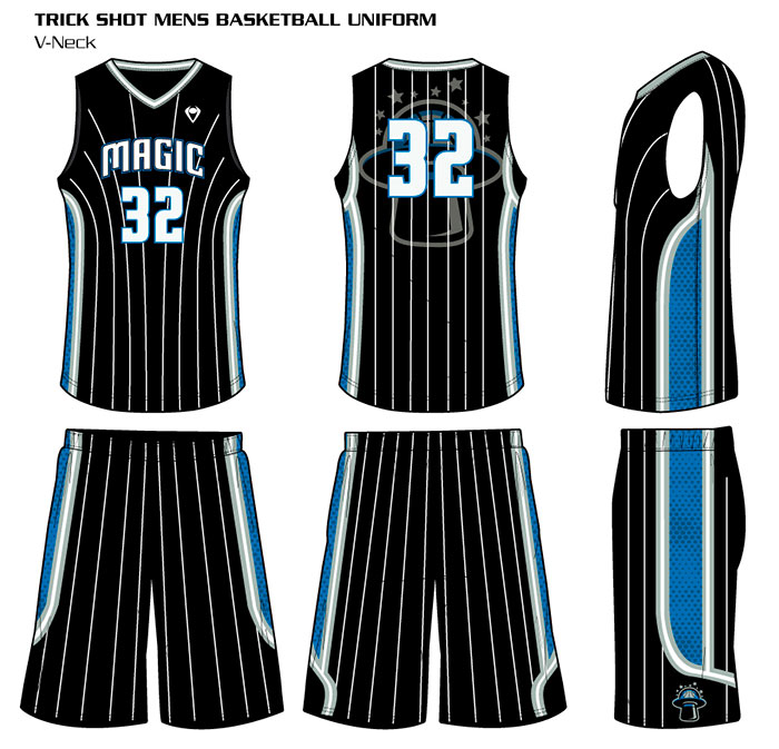 Sublimated Basketball Uniforms Trickshot