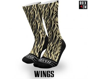 Sublimated Basketball Socks Wings