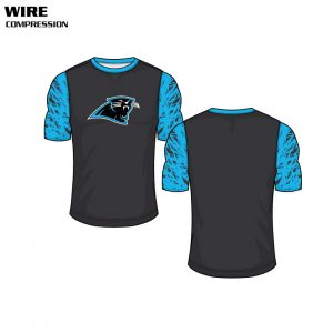 Sublimated Basketball Uniform Wire Compression Shirt